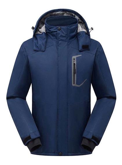 Chamarra Frio Extremo Termica Nieve Lluvia Ski Polar Fleece