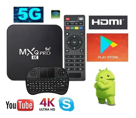 Aparelho Smart Tv Pro 5g 4k Android 9.0 4g + 32g + Controle