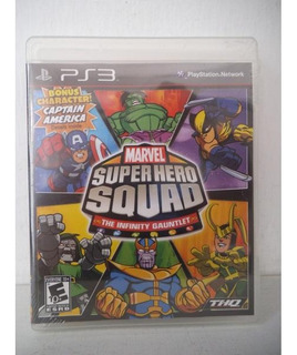 Marvel Super Hero Squad Infinity Gauntlet Playstation Ps3