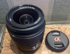 Lente Sony A-mount 18-55mm F/3.5-5.6 Sal 1855 Código 6110196