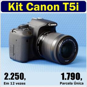 Canon T5i   Lente Efs 18-55 Is Stm (kit) Nova Nova Nova Nova