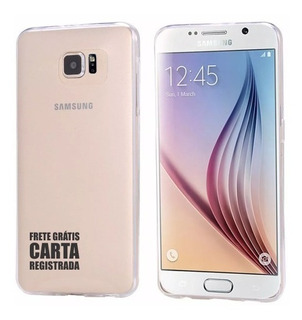 Capa Case Pro Transparente 0,3mm Samsung Galaxy S6 G9200