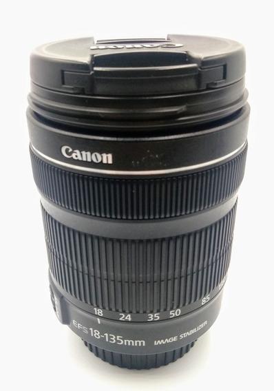 Lente Objetiva Canon 18-135mm Stm Excelente Estado