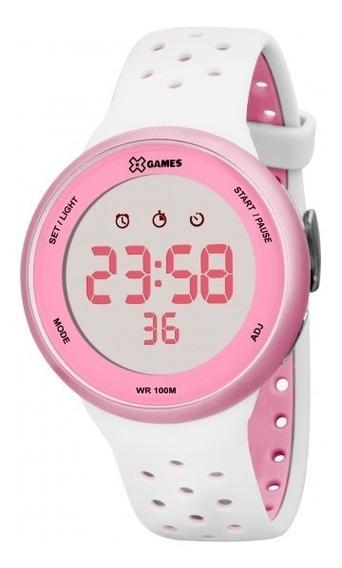 Relógio Xgames Xfppd040 Bxbr Unissex Branco - Refinado