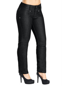 Calça Jeans Skinny Feminina Preta Frete Grátis
