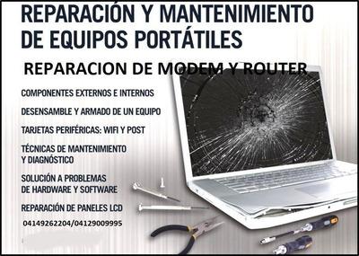 Reparacion Servicio Tecnico De Modem, Router Y Computadoras
