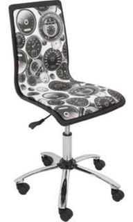 Cadeira Design Com Regulagem E Relax Estampada Multivisão