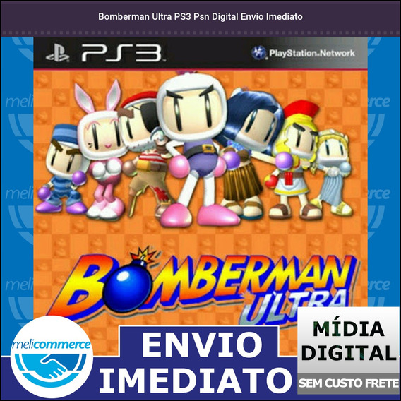 Bomberman Ultra Ps3 Psn Digital Envio Imediato