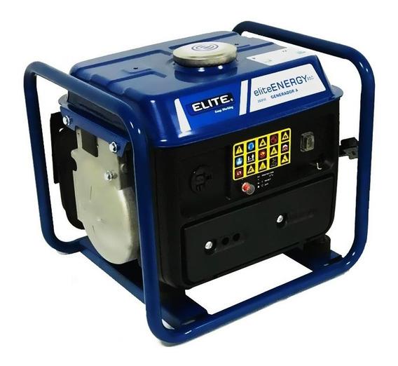 Generador Portátil A Gasolina 950w Elite 2g950