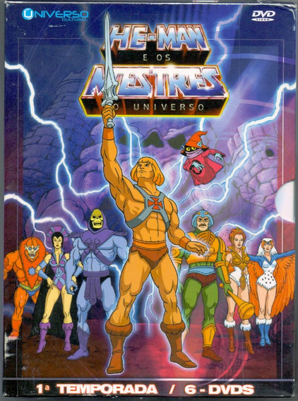 Box He - Man E Os Mestres Do Universo - 1º Temp. / 6 Dvds -