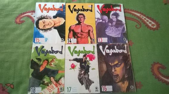 *jl Lote De 6 Livros Mangá Vagabond*