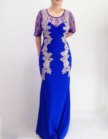 1a483c954 Vestidos Talla Extra Azul Rey en Mercado Libre México