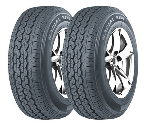 Kit X2 205/70 R15c 8t West Lake H188 106/104r M+s