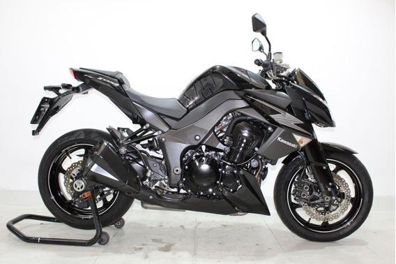 Kawasaki Z 1000 2012 Preta