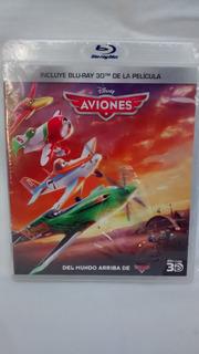 Aviones Blu Ray 3d Original