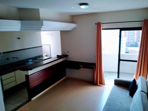 Imagem 1 de 14 de Apartamento 1 Dormitório Mobíliado Cambuí