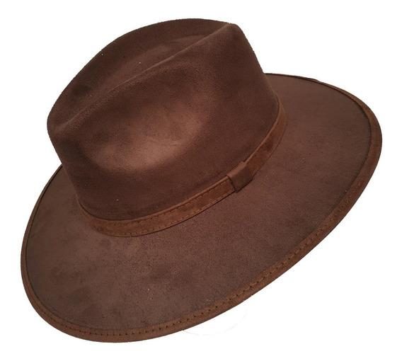 Lote De 3 Sombreros Indiana Explorer Gamuza Unisex Mayoreo