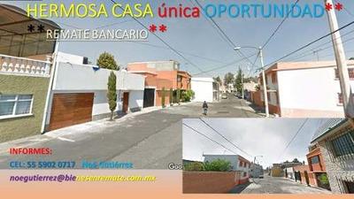 Amplia Y Hermosa Casa **remate Bancario ** Sn Aragon