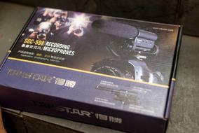 Microfone Takstar Sgc-598 Profi Cameras Nikon E Canon