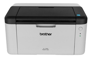 Impresora Brother HL-1 Series HL-1200 220V blanca y negra