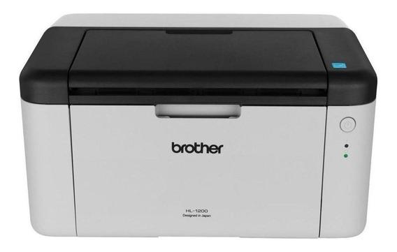 Impresora Brother HL-1 Series HL-1200 220V blanca y negra