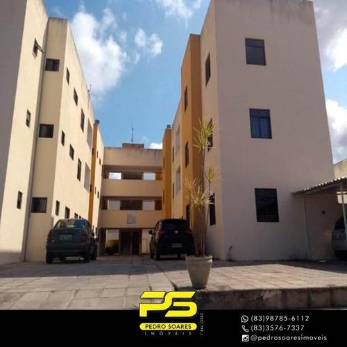 Apartamento Com 2 Dormitórios Para Alugar, 62 M² Por R$ 500/mês - Muçumagro - João Pessoa/pb - Ap3231