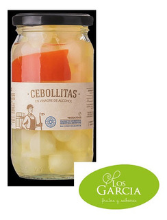 Cebollitas En Vinagre De Alcohol- Frasco - 310 Gr - Recetas
