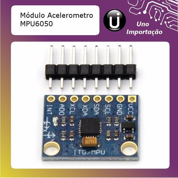 Módulo Acelerômetro E Giroscópio - 3 Eixos - 6 Dof - Mpu6050