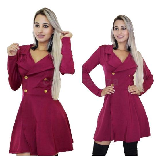 Casaco Feminino Blusa De Frio Jaqueta Outono Inverno Panicat