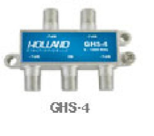 5 x F a F Inline Joiner 4 V/ías Divisor de TV Sat 5-2500MHz Adaptador de Enchufe F Cable Distribuidor de Antena Splitter Sat Distribuidor de TV 4X F al Adaptador Coaxial 2 x Cable 1,5 m