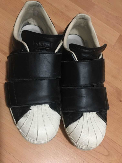 Zapatillas adidas Superstar Unicas! Sin Cordones 40