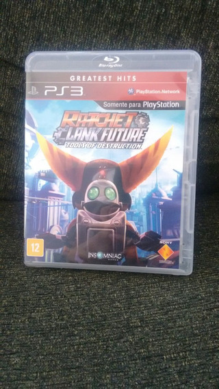 Ratchet Clank Future Ps3 Usado Mídia Física Original