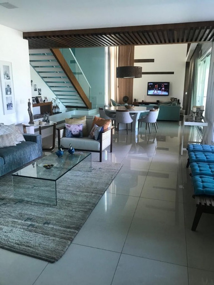 Casa Em Condomínio Duplex Para Aluguel Mobiliada Três Suítes 600 M2 Em Alphaville Ii - Sfl394 - 68139020