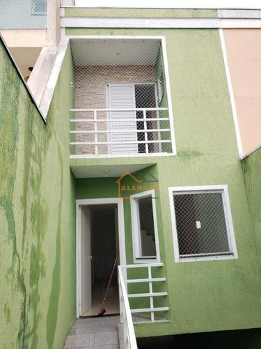 Sobrado Próximo Ao Metrô Patriarca Com 2 Dormitórios À Venda Por R$ 440.000 - Vila Ré - São Paulo/sp - So0189