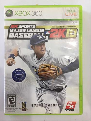 Imagen 1 de 1 de Mlb2k10 Xbox 360