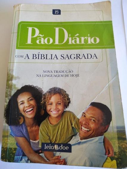 Livro Pão Diário Com A Bíblia Sagrada
