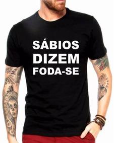 e3d17b98e3 Camiseta Foda Se - Camisetas Masculino Manga Curta no Mercado Livre ...