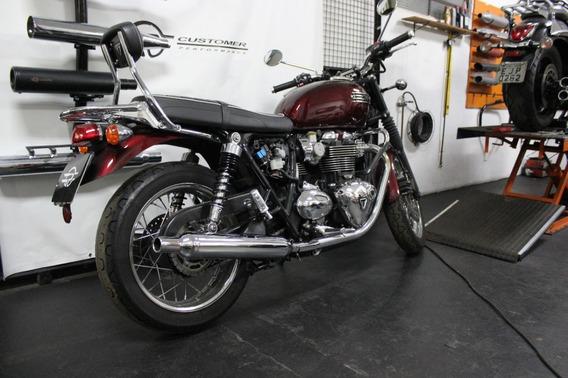 Ponteira Triumph Bonneville T100 Modelo Original Customer