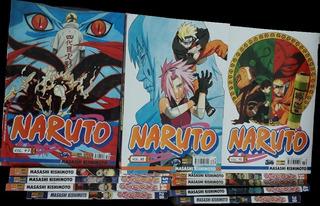 Mangá Naruto Vários Volumes