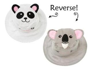 Gorro Reversible Panda-koala Flapjacks
