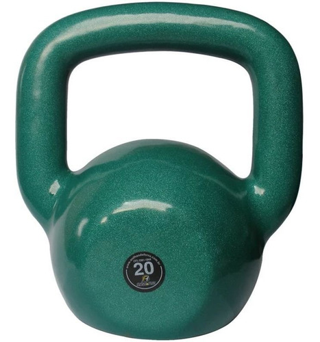 Kettlebell Emborrachado Treinamento Funcional Fitness 20,0kg
