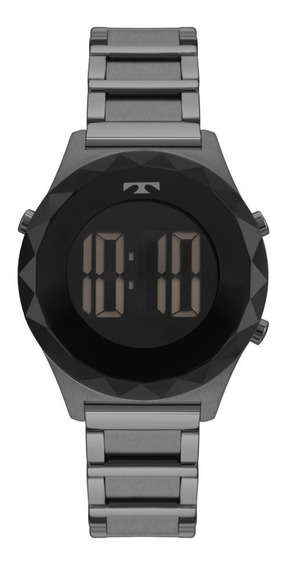 Relógio Technos Feminino Crystal Bj3851aa/4p Preto Digital