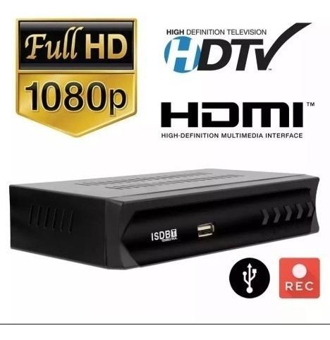 Conversor Digital P/ Tv Hdmi + Antena Wifi - Cód: 343/ 1320