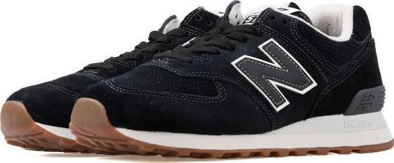 Tênis New Balance 574 Classics Camurça Nb - Preto Original