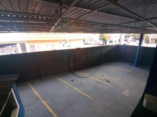 Imagem 1 de 12 de Salão Para Alugar, 255 M² Por R$ 6.000,00/mês - Casa Branca - Santo André/sp - Sl0297