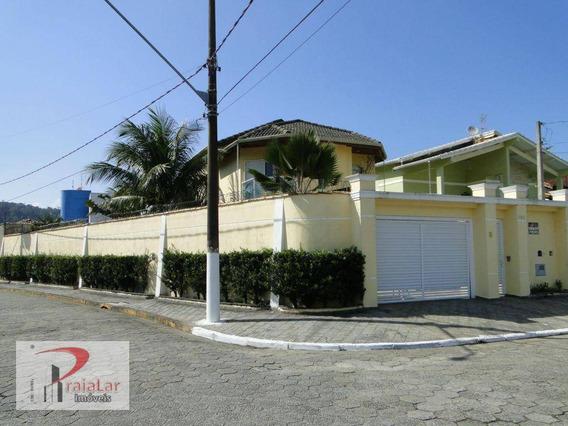 Sobrado Com 4 Dormitórios Sendo 3 Suítes E 4 Vagas De Garagem Em Praia Grande, Canto Do Forte. - Ca0099