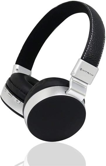Fone De Ouvido Sem Fio Headphone Bluetooth Dobrável On-ear