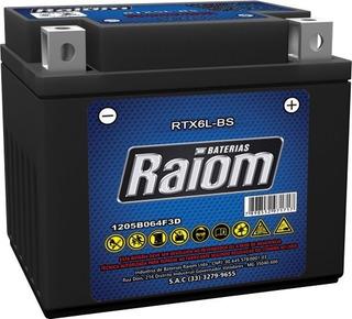 Bateria Moto Selada Ytz6-v Cg 150 Titan Esd Ybr 125 Xre 300
