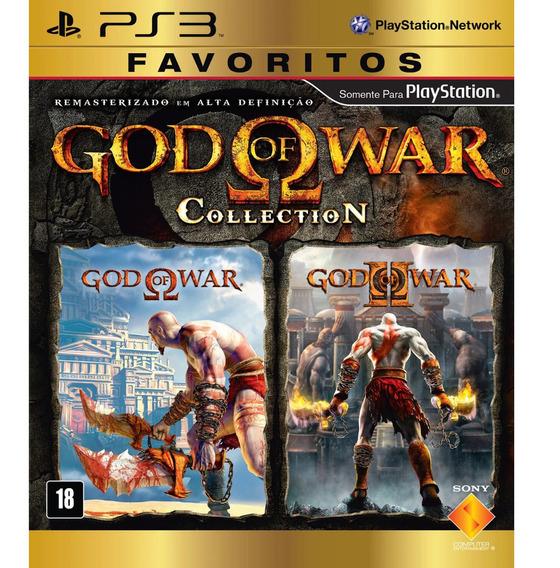 Jogo God Of War Collection Playstation 3 - Mídia Física