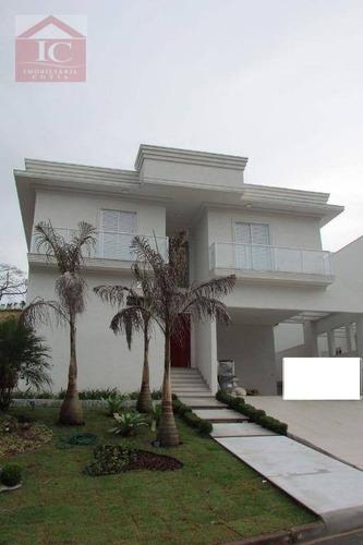 Casa Com 4 Dormitórios À Venda, 400 M² Por R$ 2.500.000 - Moinho Velho - Cotia/sp - Ca1020